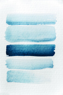 Studio Na.hili, Aquarelle Meets Pencil - Stripes (Germany, Europe)