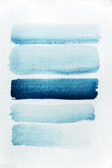 Studio Na.hili, Aquarelle Meets Pencil - Stripes (Deutschland, Europa)