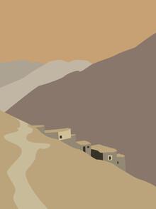 Julie Becquart, Im Schatten der Berge (Marokko, Afrika)