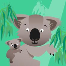 Pia Kolle, Kinderzimmer-Koalas – Illustration für Kinder (Deutschland, Europa)
