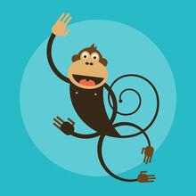 Pia Kolle, Kinderzimmer-Affe – Illustration für Kinder (Deutschland, Europa)