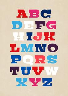 Pia Kolle, Typografie Alphabet von A bis Z (Deutschland, Europa)