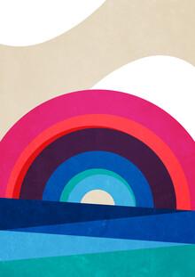 Pia Kolle, Regenbogen und Meer – Illustration für Kinder (Deutschland, Europa)