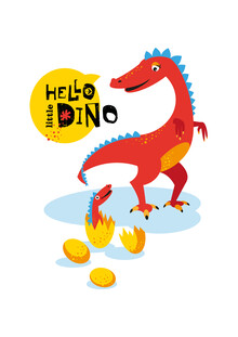 Pia Kolle, Kinderzimmer-Dinosaurier – Illustration für Kinder (Deutschland, Europa)