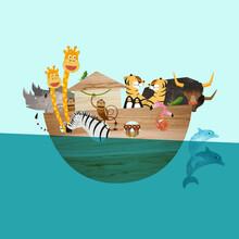 Pia Kolle, Arche Noah – Illustration für Kinder (Deutschland, Europa)