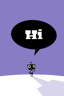 Pia Kolle, Hi, kleiner Roboter – Illustration für Kinder (Deutschland, Europa)