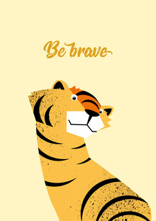 Pia Kolle, Be Brave Tiger  – Illustration für Kinder (Deutschland, Europa)