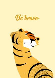 Pia Kolle, Be Brave Tiger  – Illustration für Kinder (Deutschland, Europa)