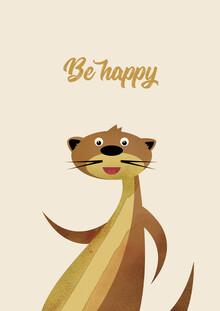 Pia Kolle, Be Happy Otter – Illustration für Kinder (Deutschland, Europa)