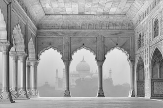 Thomas Herzog, Taj Mahal im Nebel (Indien, Asien)