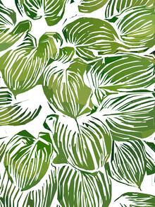 Uma Gokhale, Wild Leaves III (Indien, Asien)