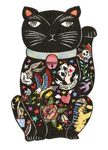 Rumi Hara, Maneki Cat - Black 2 (Vereinigte Staaten, Nordamerika)