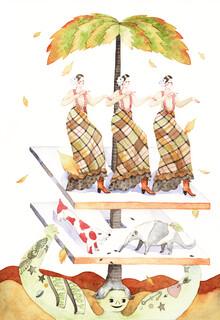 Rumi Hara, Happy Autumn (Vereinigte Staaten, Nordamerika)