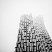 Dennis Wehrmann, Dancing towers covered in fog (Germany, Europe)