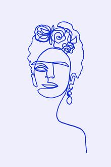 Julia Hariri, Frida Kahlo Blue (Germany, Europe)