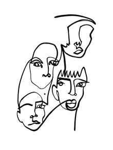 Julia Hariri, Blind Drawing 1 (Germany, Europe)