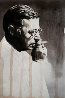 David Diehl, Jean Paul Sartre (France, Europe)