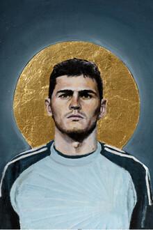 David Diehl, Iker Casillas (Spanien, Europa)