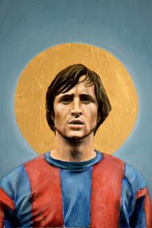 David Diehl, Johan Cruyff (Netherlands, Europe)
