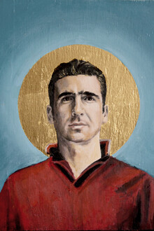 Eric Cantona - Fineart photography by David Diehl