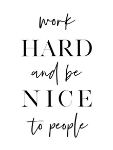 Vivid Atelier, Work Hard and Be Nice (Großbritannien, Europa)