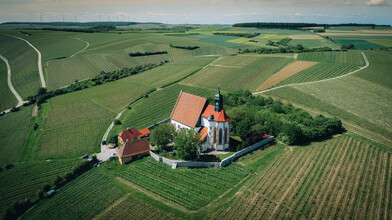 Rémi Peschet, Lost church in the fields (Germany, Europe)