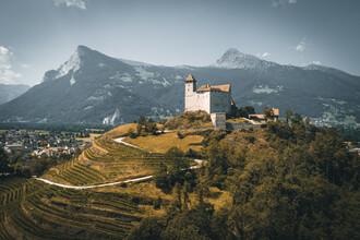 Rémi Peschet, Small castle in Vaduz (Liechtenstein, Europe)