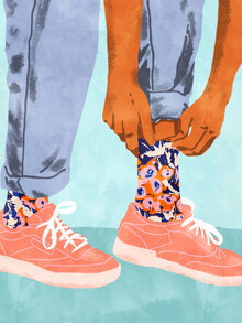 Uma Gokhale, Pull Up Those Pretty Socks! (India, Asia)