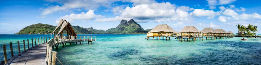 Jan Becke, Mont Otemanu auf dem Bora Bora Atoll in Französisch-Polynesien (Französisch-Polynesien, Australien und Ozeanien)
