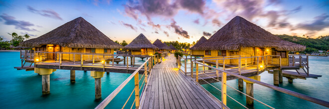Jan Becke, Holiday in an Overwater Bungalow on Bora Bora (French Polynesia, Oceania)