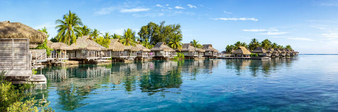 Jan Becke, Holiday in an Overwater Bungalow in the South Sea (French Polynesia, Oceania)
