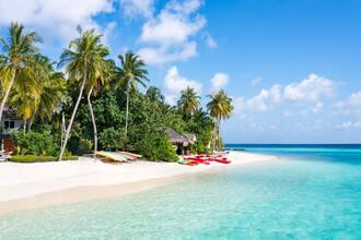 Jan Becke, Beach holiday on an island in the Maldives (Maldives, Asia)