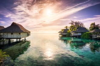 Jan Becke, Sunset on Bora Bora (French Polynesia, Oceania)