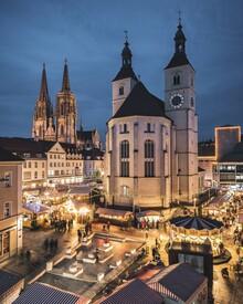 Thomas Müller, Weihnachtsmarkt Regensburg (Deutschland, Europa)