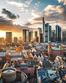 Thomas Müller, Skyline Frankfurt (Deutschland, Europa)