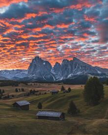 Thomas Müller, Sonnenaufgang in den Dolomiten (Italien, Europa)