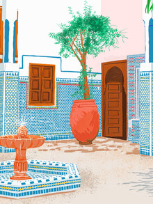 Uma Gokhale, Moroccan Villa (India, Asia)