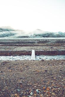 Franz Sussbauer, Fußweg in Landmannalaugar (Island, Europa)