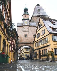 Thomas Müller, Mittelalterliches Rothenburg (Deutschland, Europa)