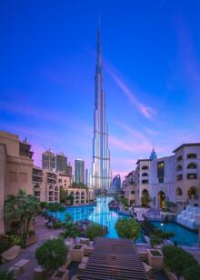 Jean Claude Castor, Dubai Burj Khalifa (Vereinigte Arabische Emirate, Asien)