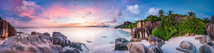 Jan Becke, Anse Source d' Argent in the Seychelles (Seychelles, Africa)