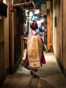 Jan Becke, Japanese Maiko in Kyoto (Japan, Asia)
