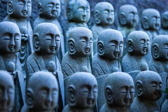 Jan Becke, Buddhistische Jizo Statuen (Japan, Asien)