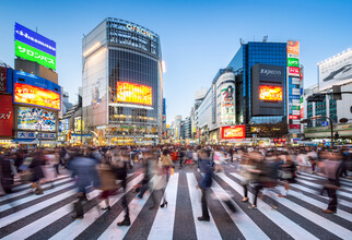 Jan Becke, Shibuya Crossing in Tokyo (Japan, Asia)