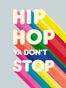Ania Więcław, Hip Hop Ya don't stop typography (Poland, Europe)