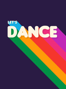 Ania Więcław, RAINBOW DANCE TYPOGRAPHY- let's dance (Poland, Europe)