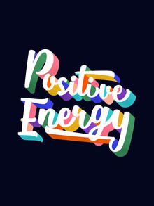 Ania Więcław, Positive Energy- typography (Poland, Europe)