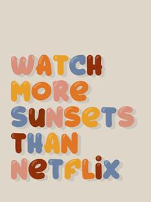 Ania Więcław, watch more sunsets than netflix (Polen, Europa)