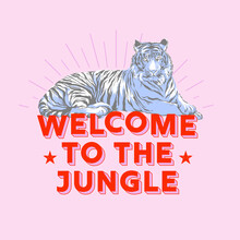 Ania Więcław, welcome to the jungle - retro tiger (Poland, Europe)