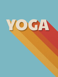 Ania Więcław, Yoga retro typography (Poland, Europe)